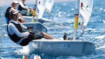 Esulta Lucia Nicolini, tricolore di vela