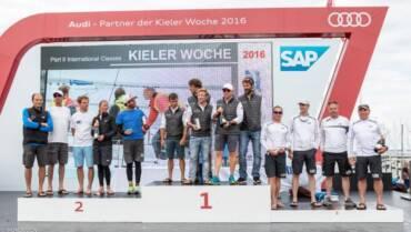 Racchelli e Bonini sul podio alla Kieler Woche