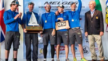 Andrea Racchelli e il suo team vincono il mondiale Melges 24 con Altea.