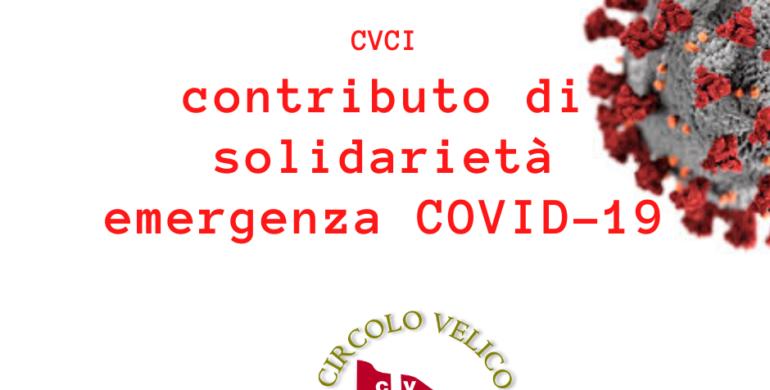 Contributo di solidarietà emergenza COVID-19