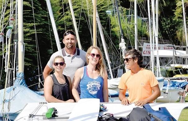 Sulle acque del Lago Maggiore inseguendo il sogno olimpico
