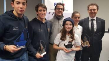 Circolo Velico Canottieri Intra premiato al CONI