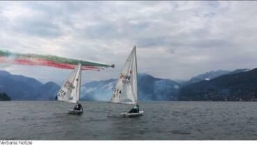 Circolo Velico Canottieri Intra podio a Domaso
